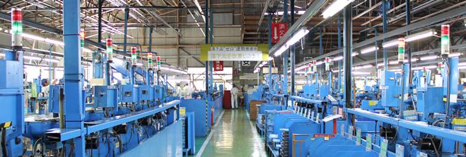 生産ラインの省力化、自動化による生産効率向上を実現
