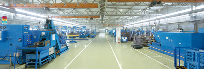 クリーンな工場