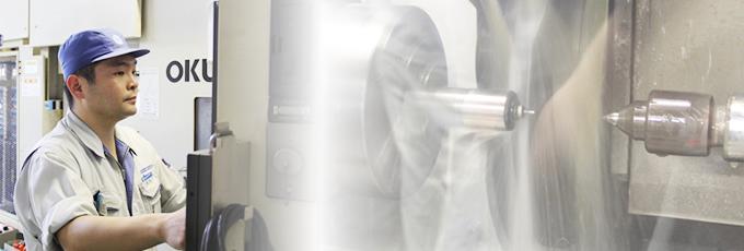 様々な材質への対応、金型内製化、加工技術。
